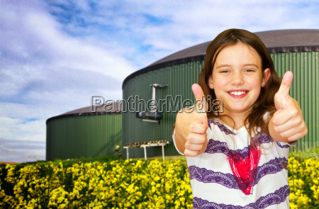 thumbs up to biogas