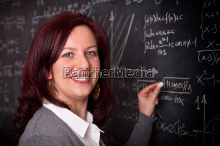 woman teacher at school