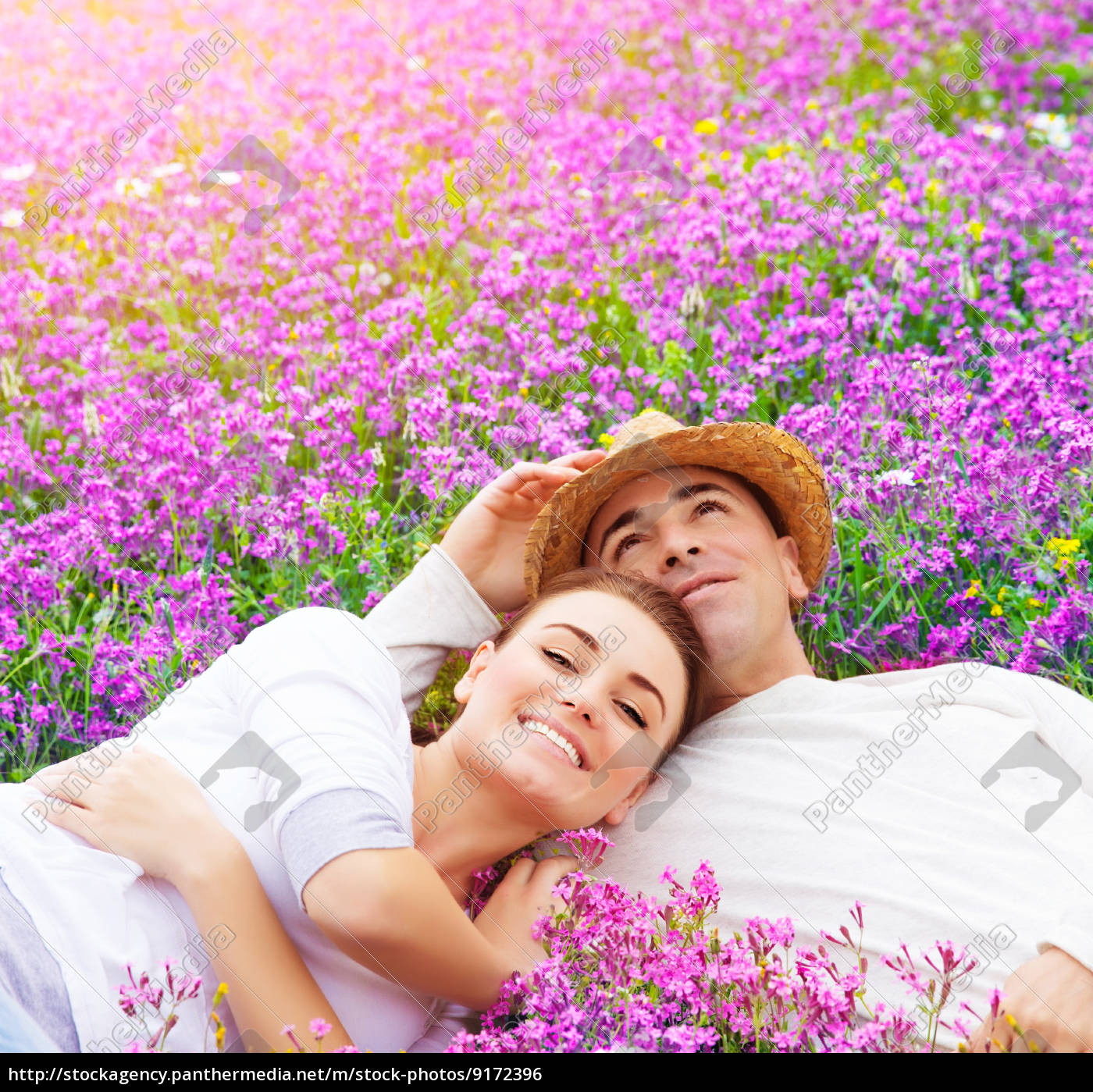 young, family, on, floral, glade - 9172396