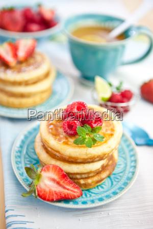 fruit berries pancakes pancake dessert fresh