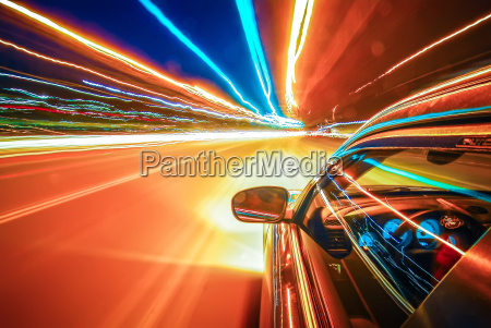 traveling at speed of light