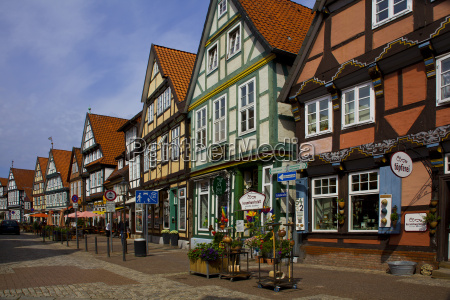 celle at the market place