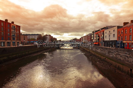 dublin and the liffey river