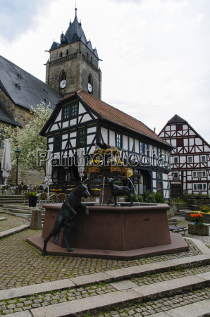 alte wache and fountain city of