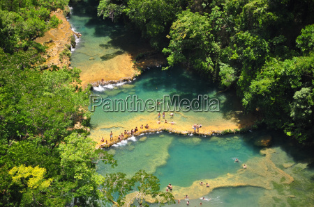 semuc champey lanquin guatemala central america