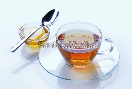 cup of tea and honey