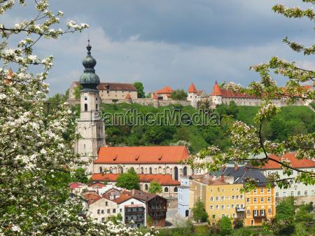 burghausen in spring