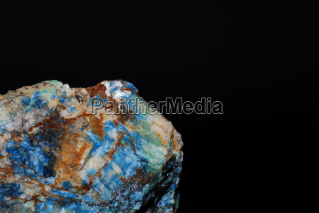 minerals azurite and malachite great detail