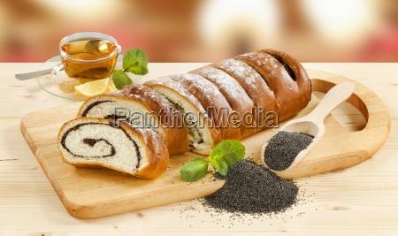 sweet poppy seed roll