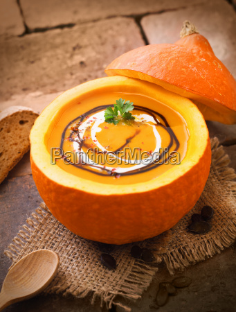 delicious pumpkin or butternut soup