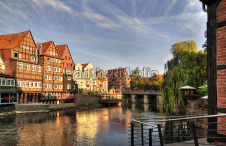 hanseatic town of lueneburg old port