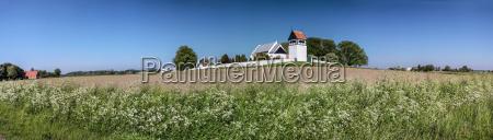 st povel kirke on bornholm