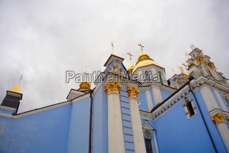 st michaels cathedral in kiev ukraine