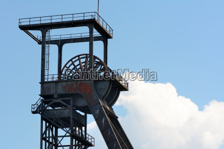 colliery tower in hamm