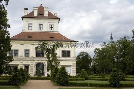 baroque pleasure palace letohradek