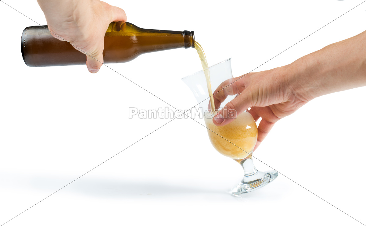 hand, holding, bottle, of, beer, and - 9530186