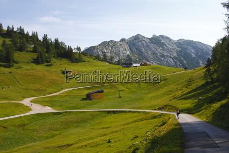 austria green valley