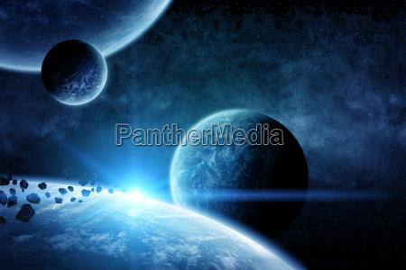 planet earth apocalypse illustration