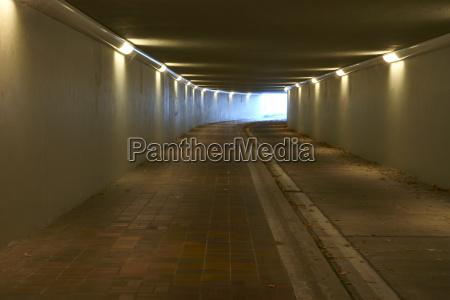 walkway tunnel wannsee