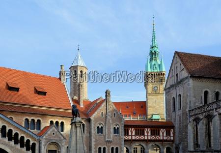 old town of braunschweig