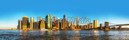 new york city cityscape with brooklyn