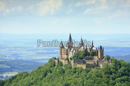 hohenzollern castle swabian alb germany