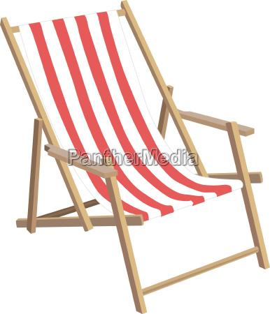 a filigree sun chair