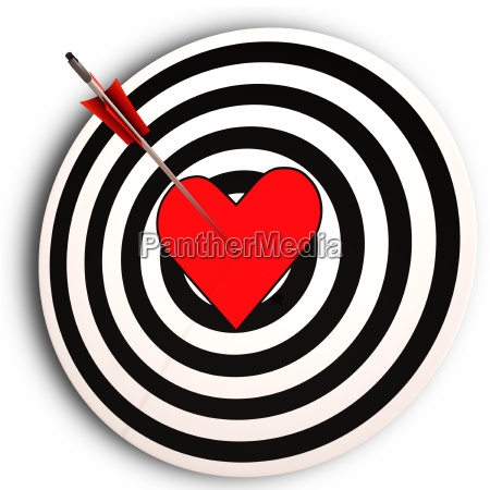 heart target means i love you