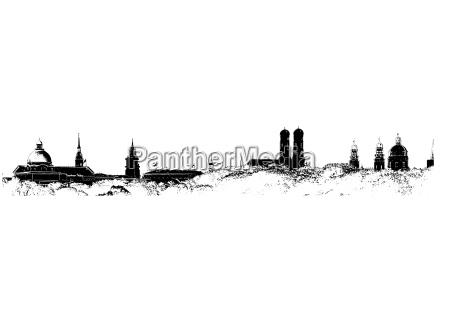 munich skyline