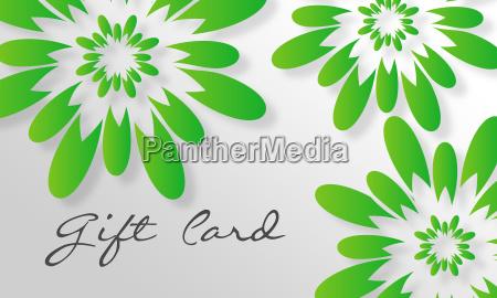 green flower giftcard