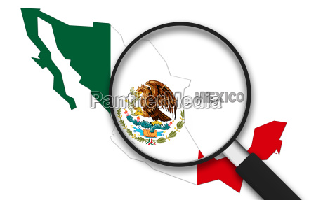 magnifying glass mexico