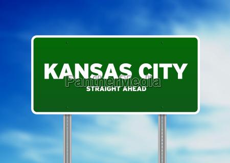 kansas city highway sign