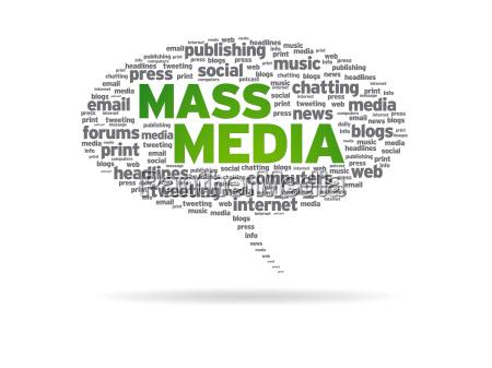 speech bubble mass media