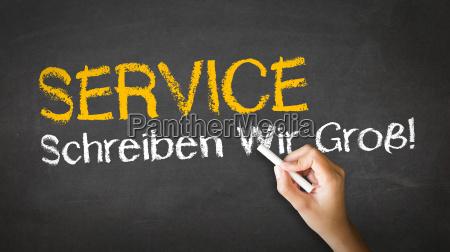 service slogan in german