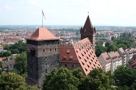 overlooking the fuenfeckturm and kaiserstallung now