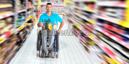 wheelchairs while shopping