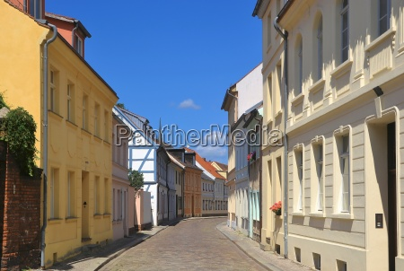 street in brandenburg on the havel