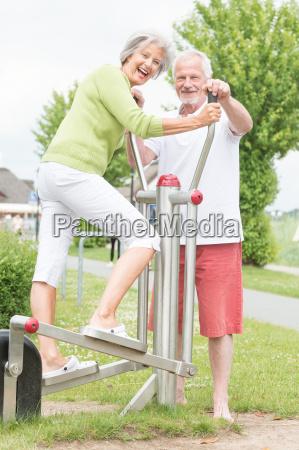 seniors and sport