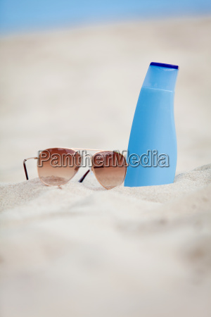 sun protection on holiday on the