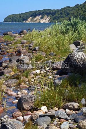 baltic beach ruegen germany