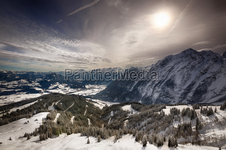 bavarian alps berchtesgadener land germany