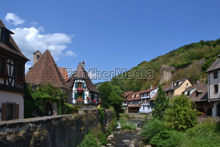 on stadtbach in kaysersberg