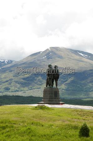 commando memorial highlands scotland