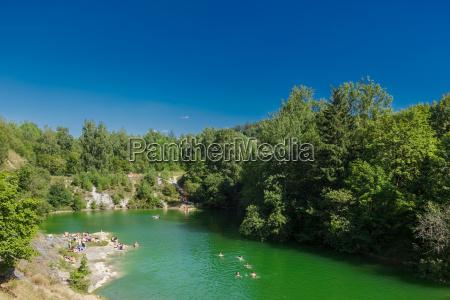 lake blue near ruebeland in the