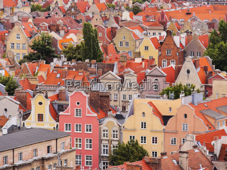 cityscape of gdansk poland