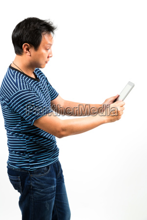 tablet using