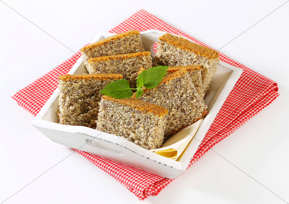 poppy, seed, cake - 9825474