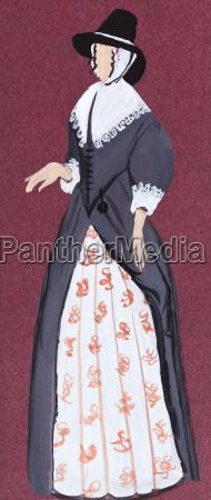 dress of the 17th century