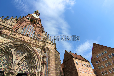 the frauenkirche in nuremberg