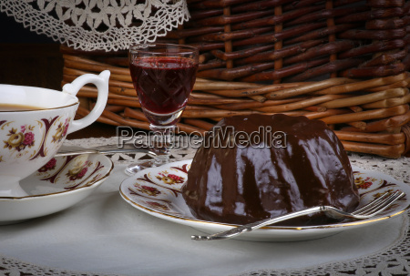 mini pound cake chocolate hazelnut